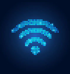 wifi vector image