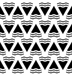 abstract geometric seamless pattern in vector image vector image