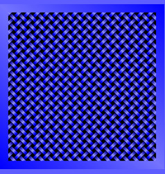 Blue wire mesh abstract technology background vector