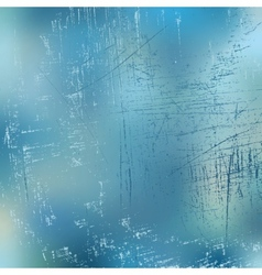 Scratched ice background vector image