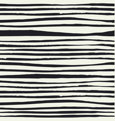 Black brush lines seamless pattern black hand vector