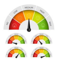 creative of rating customer vector image