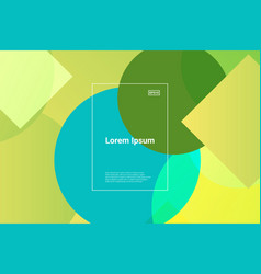 fluid futuristic design poster liquid color vector image