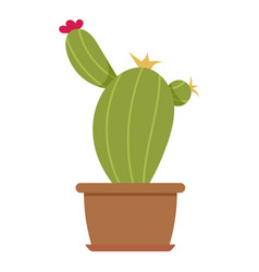 House plant icon flat style vector