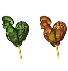 Lollipop cock vector