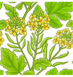 mustard pattern vector image