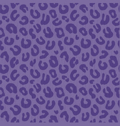 seamless leopard print background pattern purple vector image