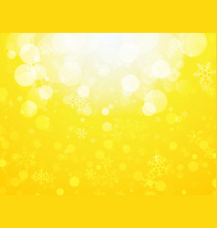 white yellow abstract christmas background with vector image