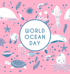 world ocean day element of image furnished by vector image