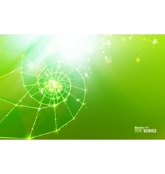 Abstract science design vector image vector image