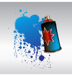 aerosol spray vector image