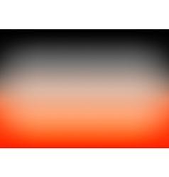 Orange Black Gradient Background vector image