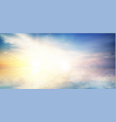 panorama twilight blurred gradient abstract vector image vector image