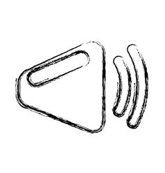 speaker audio device icon vector image