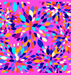 Abstract geo background with colorful fireworks vector