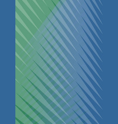 Abstract green and blue striped background trendy vector