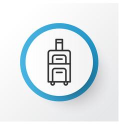 Baggage icon symbol premium quality isolated vector