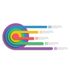 Infographic design and marketing icons can be vector