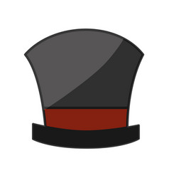 Magician hat wear vector
