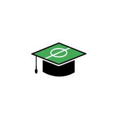 sport academy logo vector image