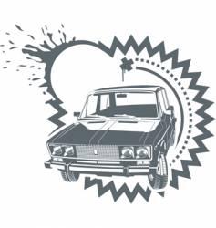 Stilling car vector