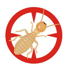 Worker termite iconcartoon icon vector