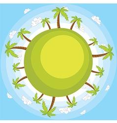 Earthblue vector image