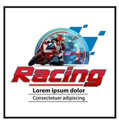 logo Motorsport vector image vector image