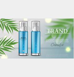 cosmetics spray water moisturizer hydration vector image