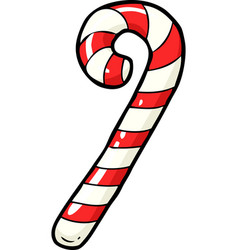 doodle christmas candy vector image