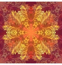 Grunge hand drawn dark seamless pattern vector image