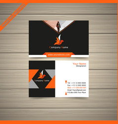 new model business card vector image