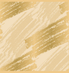 pencil strokes in gold and rosy seamless pattern vector image