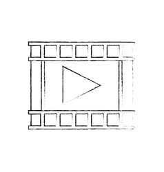 Play video music multimedia concept vector