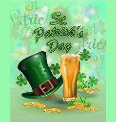 st patrick day greeting vector image