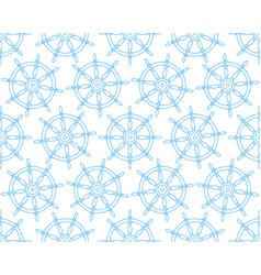 steering wheel contour pattern vector image