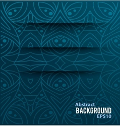 Abstract background with cuts vector image vector image