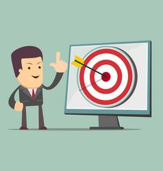 Arrow up icon success increase concept vector