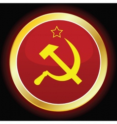 soviet sign vector image vector image