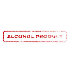 alcohol product rubber stamp vector image