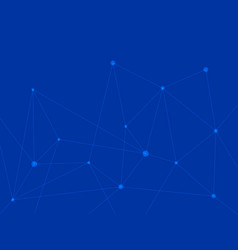 Blue technology background triangle abstract with vector