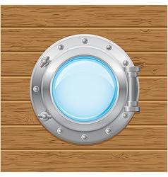 boat porthole 02 vector image