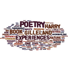 Gilleland poetry storoems and poems review text vector