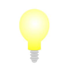lamp bulb icon vector image