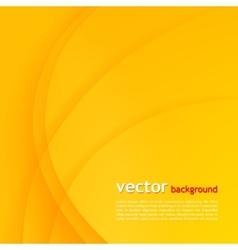 Orange elegant business background vector image