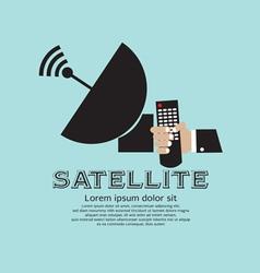 Satellite vector image