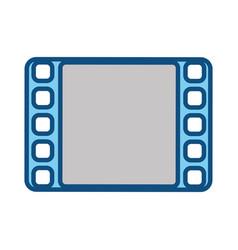 video player symbol vector image
