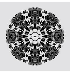 Abstract circular mandala vector