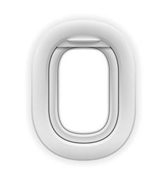 airplane window porthole stock vector image