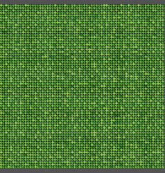 banner green sequin mosaic glitter sparkle glow vector image